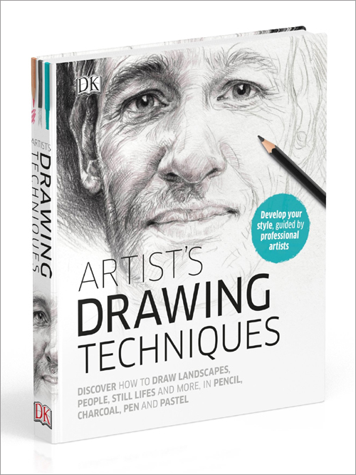 A description of one of my drawings in this book... 'Artist's Drawing Techniques' DK Books. Available from the start of August 2017.